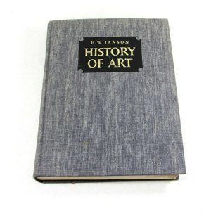HISTORY OF ART BY H.W. JANSON   15th Printing 1970